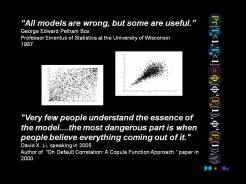 Quote Box models wrong Li default correlation