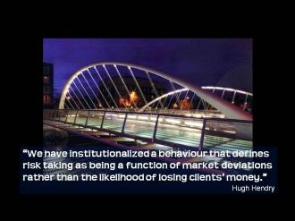 Quote Hendry risk taking market deviations
