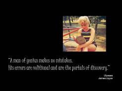 Quote Joyce genius portals discovery