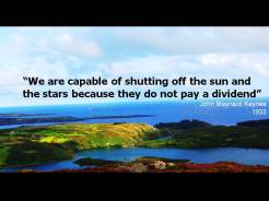 Quote Keynes sun stars dividend