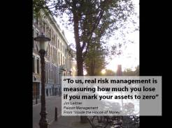 Quote Leitner risk management mark assets zero