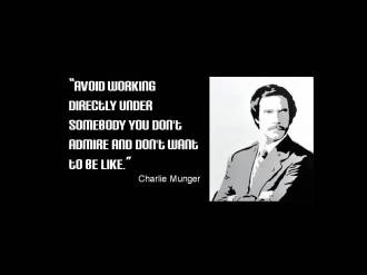 Quote Munger working somebody don't admire