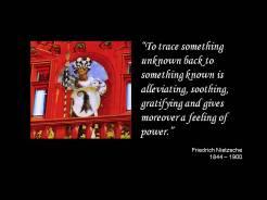 Quote Nietzsche unknown known