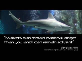 Quote Shilling markets irrational