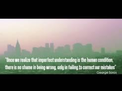 Quote Soros imperfect understanding