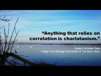 Quote Taleb correlation charlatanism