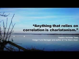 Quote Taleb correlation charlatanism