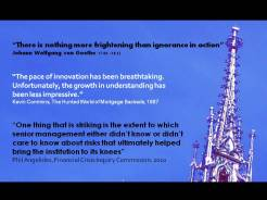 Quote von Goethe ignorance in action