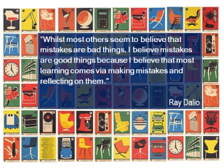 Ray Dalio quote mistakes are good things