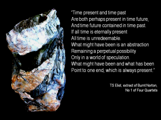 TS Eliot Quote time present time past time future