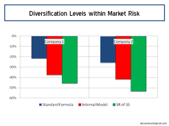 Diversification Levels within Market Risk