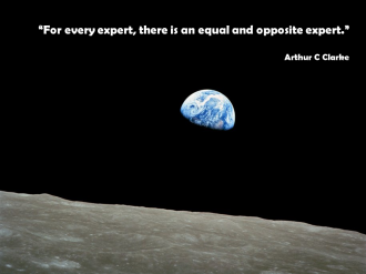 Arthur C Clarke Equal and Opposite Expert