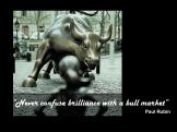 Paul Rubin quote brillance bull market