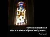 Peter Lynch quote efficient markets junk