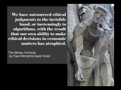 Paul Wilmott quote invisible hand algorithms