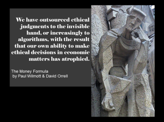 Paul Wilmott quote invisible hand algorithms